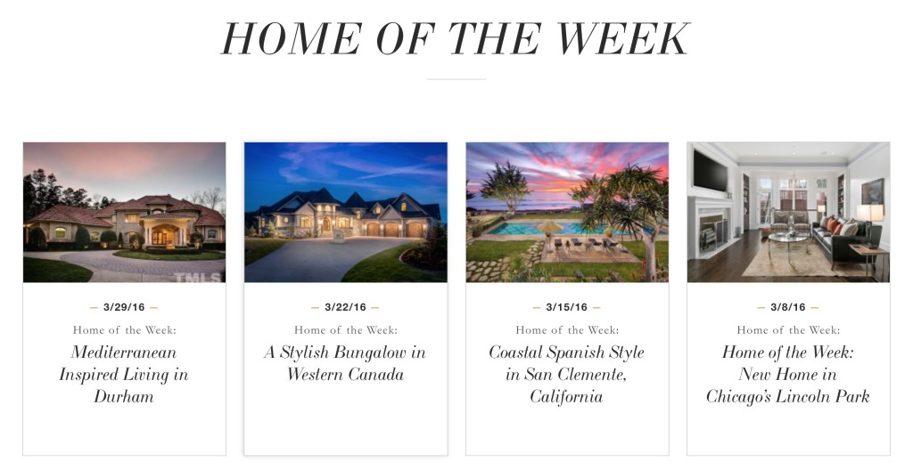 homes of the week coldwell banker previews - homes of the week 1024x528 - Coldwell Banker Previews sfida la sua leggenda