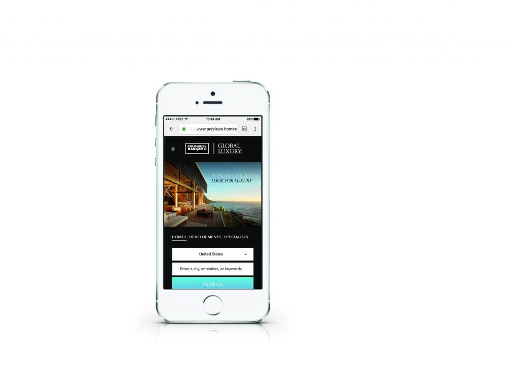 coldwell banker global luxury - coldwell banker global luxury mobile - Una nuova espressione del lusso